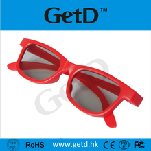 Fashion light weight 3d vision extra glasses ROHS ABS