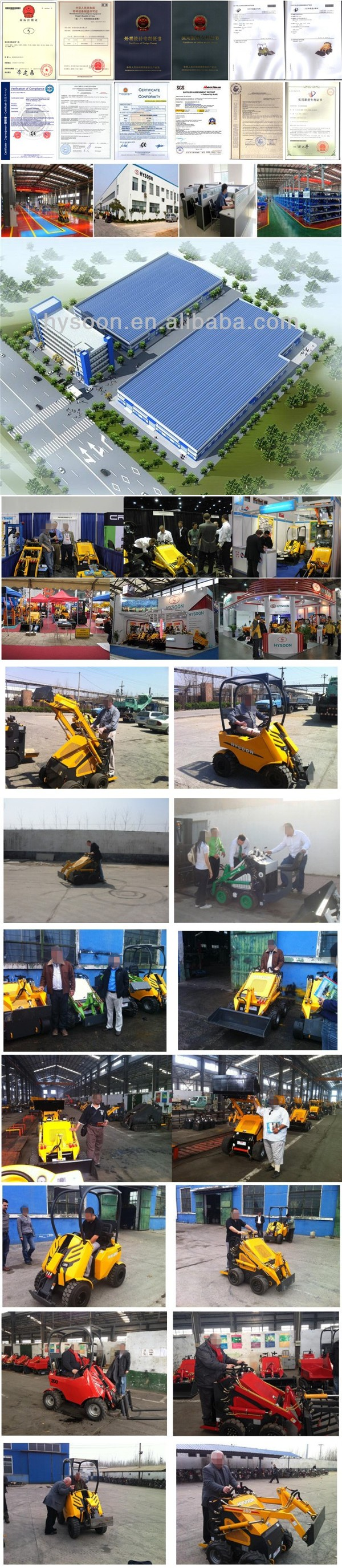 Multifunctional electric mini dumper