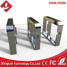 Low price flap barrier gate for subway high pass speed wing turnstile,automatic high speed gate