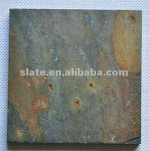 rusty color natural man-made slate