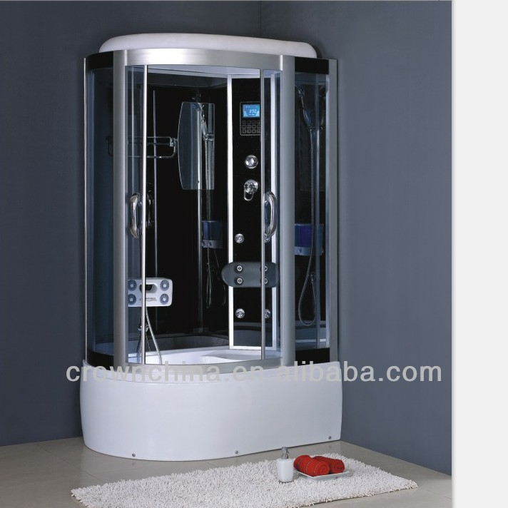 Tempered Glass Steam Shower Cabinet Sanitary Wares massge Showers