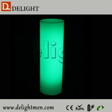 Top sale free stand outdoor lighting up led lighting pillars