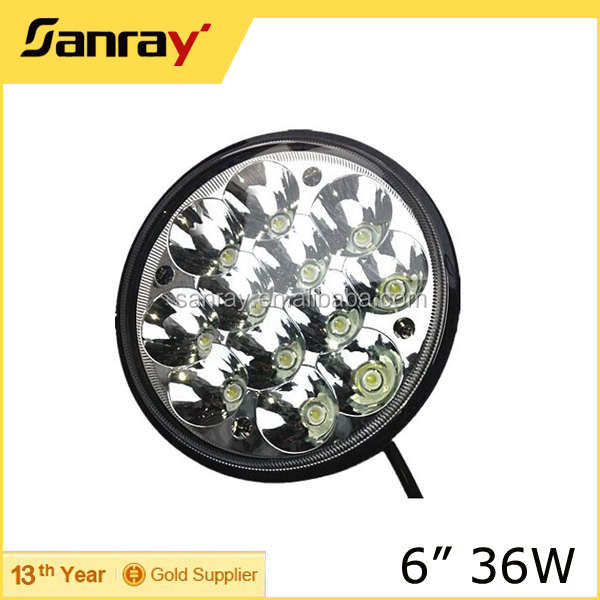 "High quality 45W motorcycle led light 7"" round headlight harley daymaker led LED Headlight for Jeep Truck"