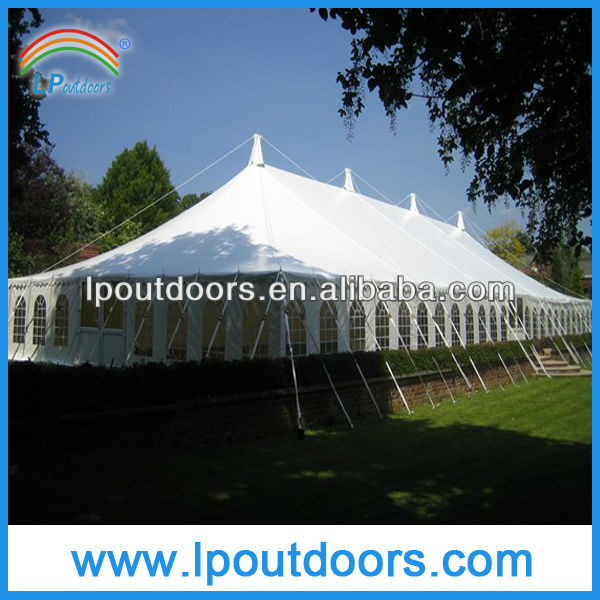 Pole tent used wedding and party tent