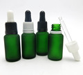 15ML e-liquid glass bottle with tamper evident dropper seal