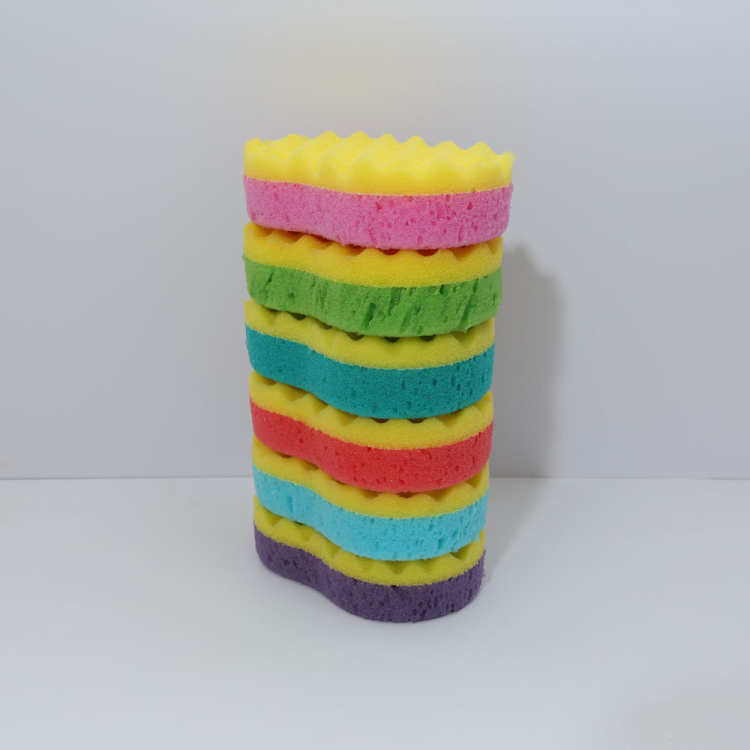 High Density high quality round bath sponge
