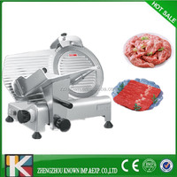 Factory supply CE approved 110/220v electric frozen meat slicer