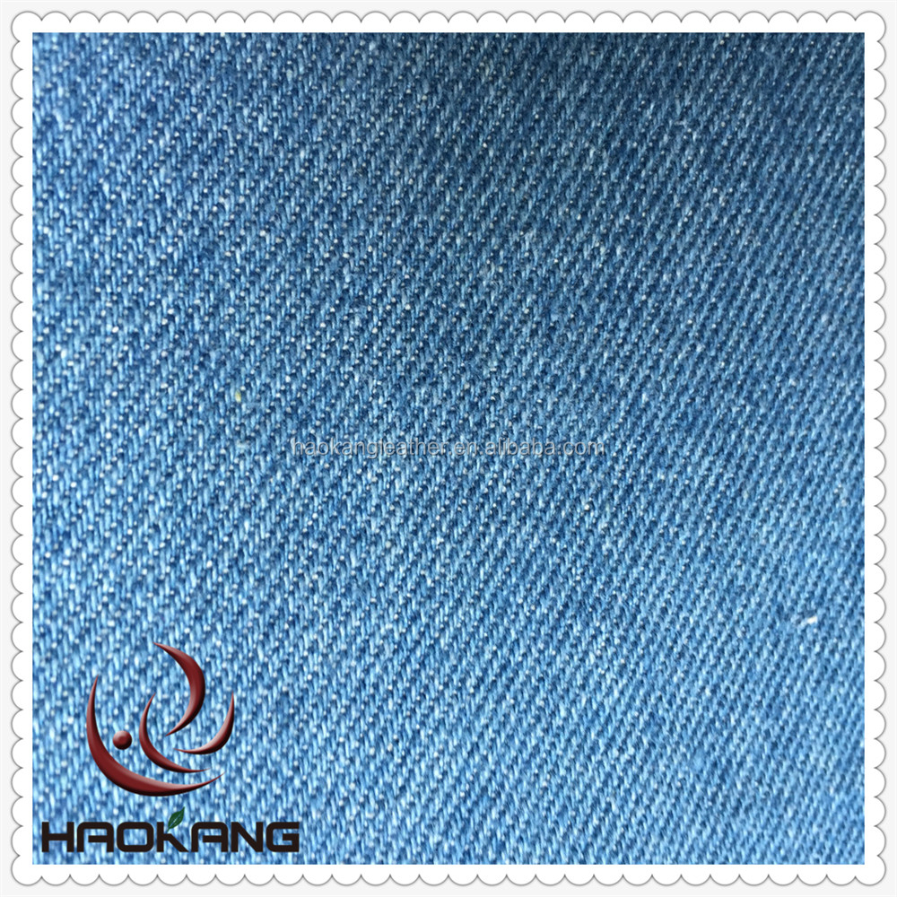 Washed cotton denim fabric for bag and cloth