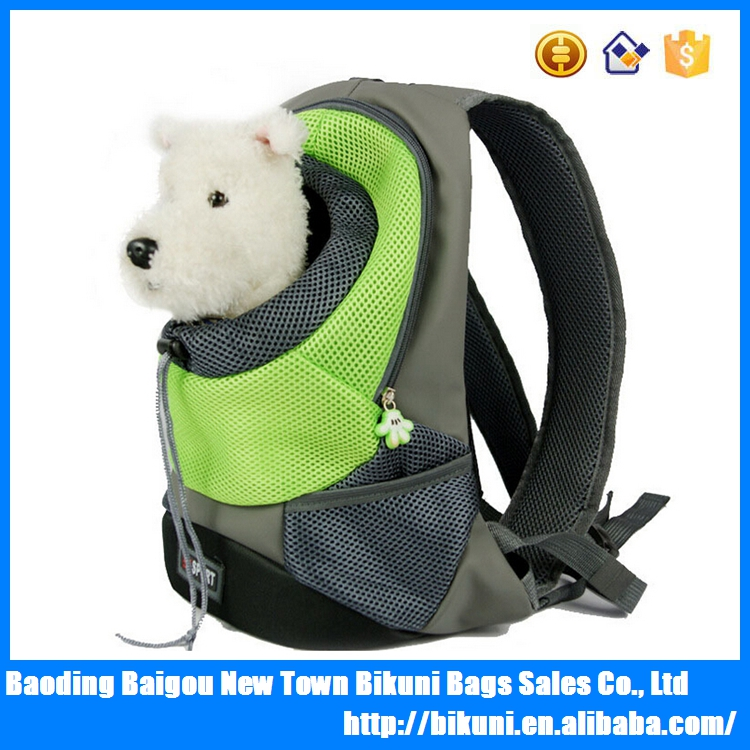 2016 Hot sale going out dog pet bag outdoor walking dog backpack for wholesale