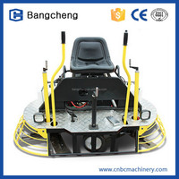 gasoline lifan engines floor screeding machine, concrete ride on power trowel