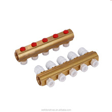 Welldone Central underfloor heating system 3 way radiant heating 1x3/4 brass manifold