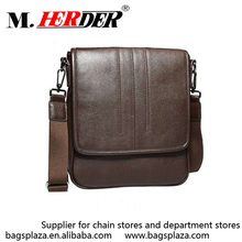 2017 online shopping men leather small travel satchel bag