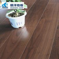 Shunyang 15mm laminated wear-resisting and environmental black walnut solid wood flooring