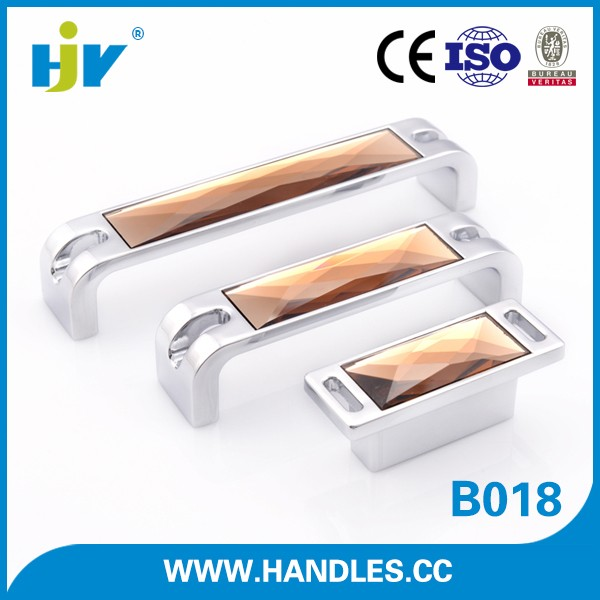 Shenzhen quality clear kitchen cabinet crystal handles