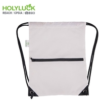 Swimwear Heavy Duty 600d Polyester Gym Sack Football Sport Drawstring Bag