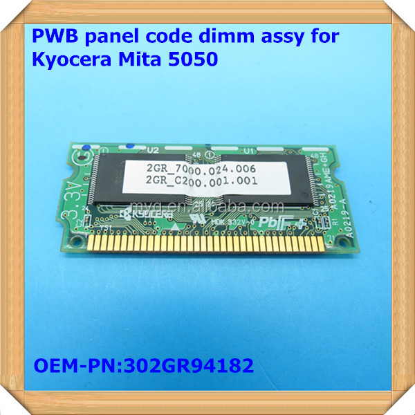 PWB panel code dimm assy for kyocera copier km-5050 photocopy machine OEM-PN:302GR94182
