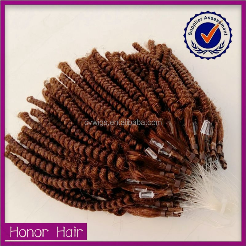 micro ring human hair weft/100% human hair weaving/virgin vietnamese hair
