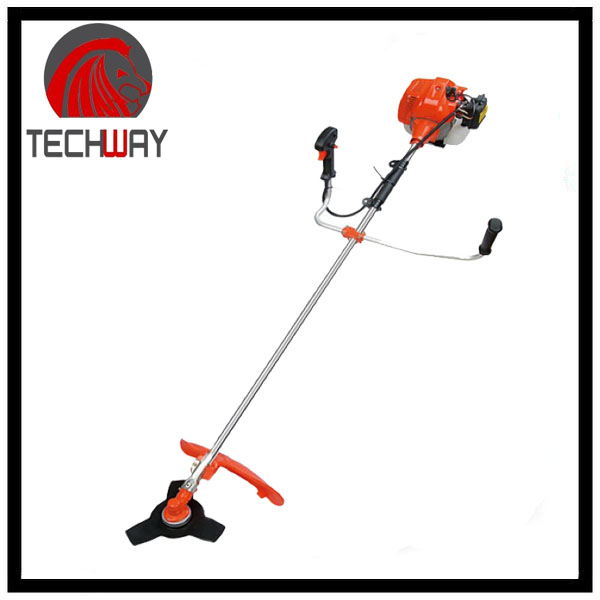 professional mechanical grass cutter 35.8CC 2 stroke power brush cutter
