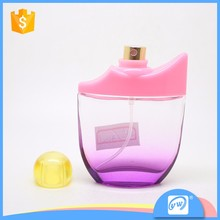 A514-30ML Orange Polystyrene cap Newest fashion perfume bottle for woman