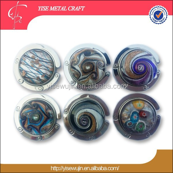 Coloured Glaze Stone Purse Hook Manufacturers