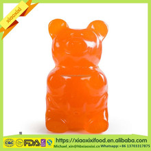 giant gummy bear shape customized packing candy and sweets