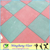 Interlocking Rubber Floor Gym Mat For Playground Outdoor