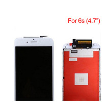 Warehouse stock for iphone 6s display, whosale lcd for iphone 6s lcd display touch screen replacment