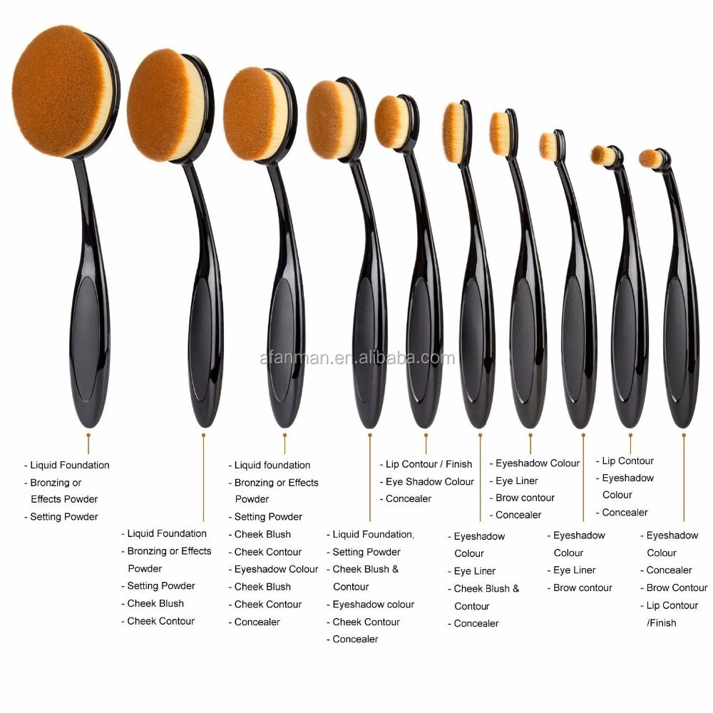 makeup studio best selling products 2017 private label Foundation makeup kit make up brushes set