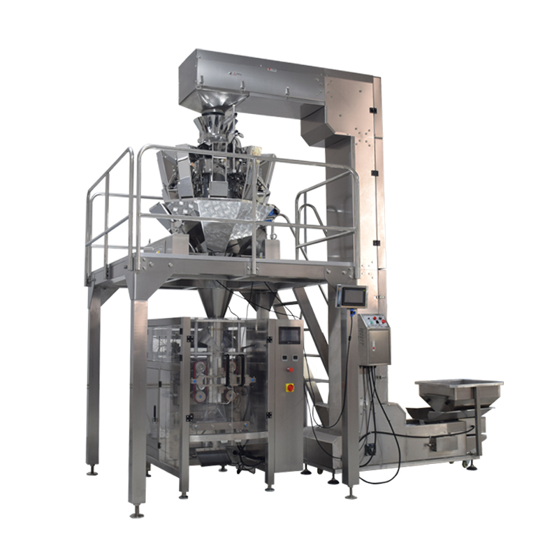 LANDPACK 420 High-Speed Vertical Form Rice/Nut/Biscuit/Snacks/Popcorn/Cereal Grain Food Packaging Machinery