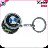 Hot sale znic alloy high quality metal luxury car logo keychain