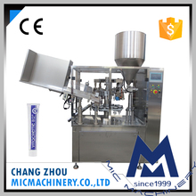 L60 Automatic Rotary Table toothpaste cosmetic machine for filling tube sealer