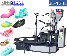 2016 New Type PVC Jelly/Crystal Shoes Injection Moulding Machine JL-128