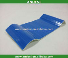sun shade panel PVC roofing tiles with corrugated plastic