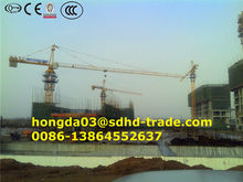 China New Construction Tower Crane QTZ80A(6011) 6T Price, Hydraulic Tower Crane ISO9001&CE Approved