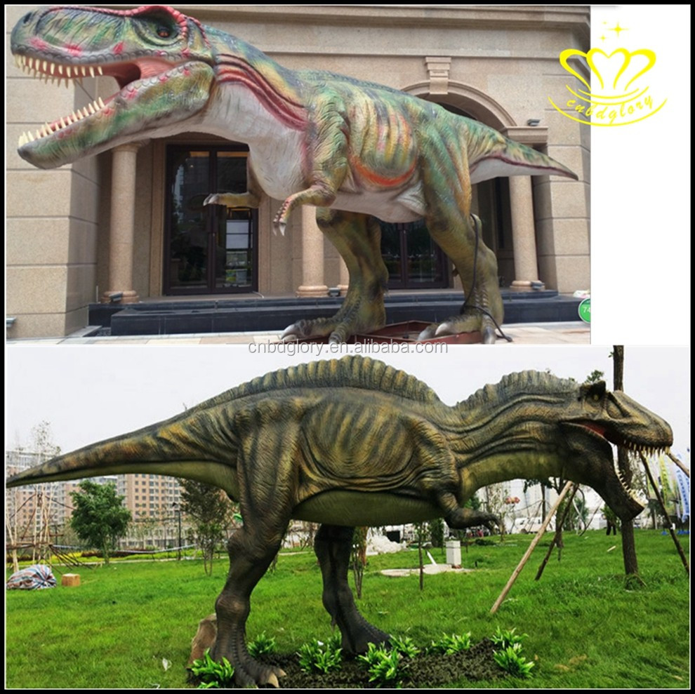 Amusement Park Products imitate animal animatronic dinosaur for sale