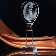 Wholesale Crystal Trophy for Tennis Sports Souvenir Gifts