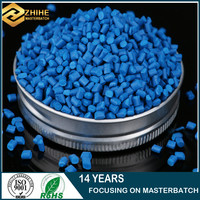 professional Color Master batch provide good quality PE PP ABS pellets blue master batch