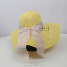 Wholesale New Style Summer Beach Paper Straw Hat Wholesale For Ladies