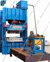 Euro compressed press sawdust wood pallet pressing hydraulic machine