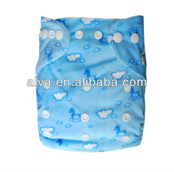 Eco-friendly Reusable Cloth Economic Baby Diapers Washable