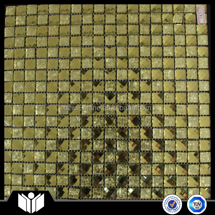 Glitter Crystal Glass Mosaic Wall Tile