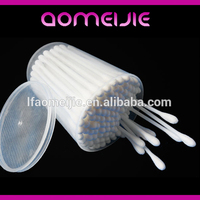 makeup remover plastic stick cotton buds