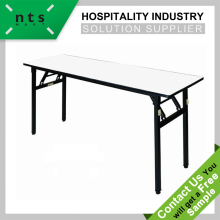 Hotel and restaurant height adjustable folding banquet table for wedding and catering