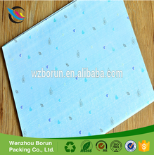 Custom printed colored double side wax tissue paper for food