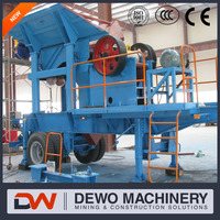 stone cutting machine mobile crushing line