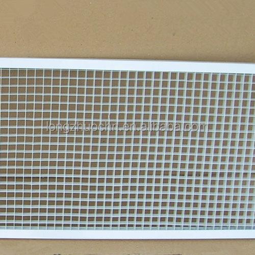 Egg Crate Return Air Grille : Plastic eggcrate return air grille louvers buy
