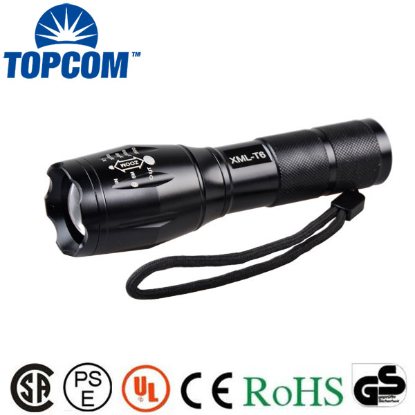 Ningbo 5000 Lumen Tactical g700 Military Flashlight 18650 Tactical Flashlight