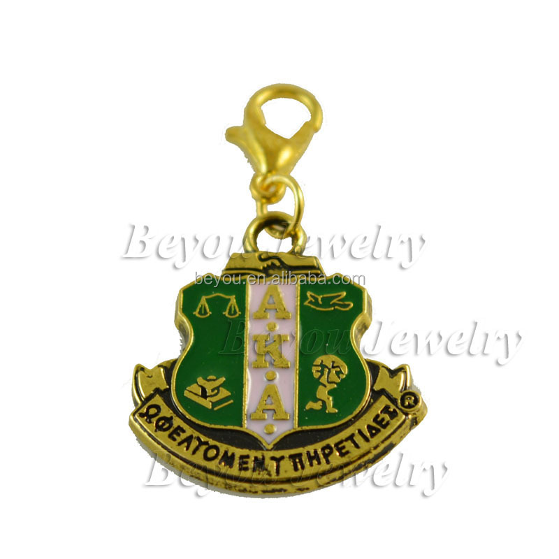 sorority <strong>charms</strong> wholesale Alpha Kap Alpha Crest <strong>Charm</strong>