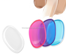 Hot sale Silicone Makeup Sponge Cosmetic Foundation lady Powder Puff