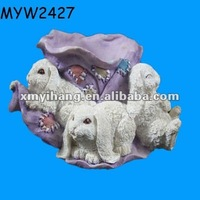 Sheep ceramic large Boots dancing flower Planter